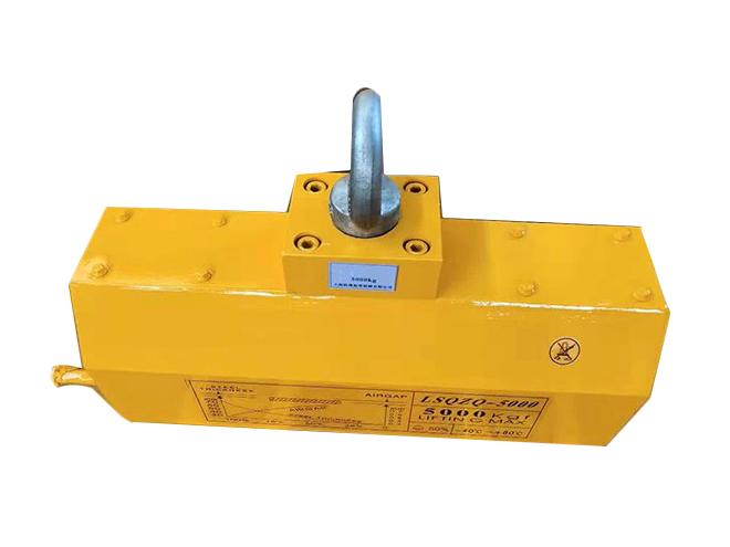 自动永磁起重器磁力吊钢板运送加工应用