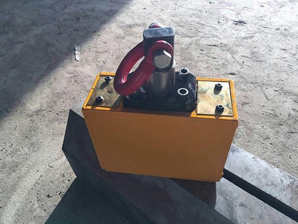 永磁起重器激光切割工件搬运方案